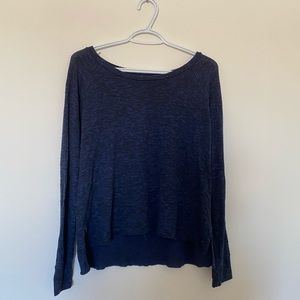 soft and sexy american eagle dark blue long sleeve